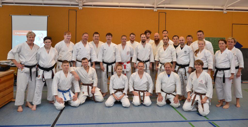 Teilnehmer des 4. Teils der Übungsleiterausbildung